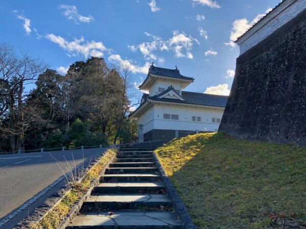 仙台城 大手門跡と脇櫓