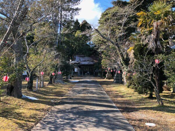 本丸跡の亘理神社
