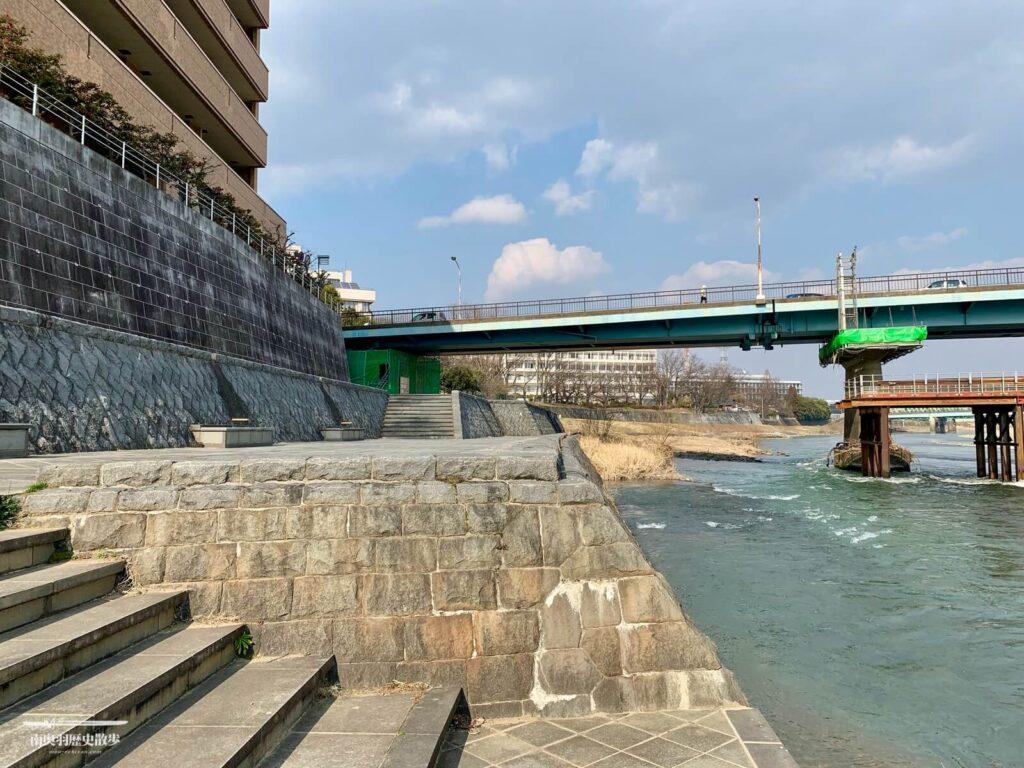 福島河岸跡