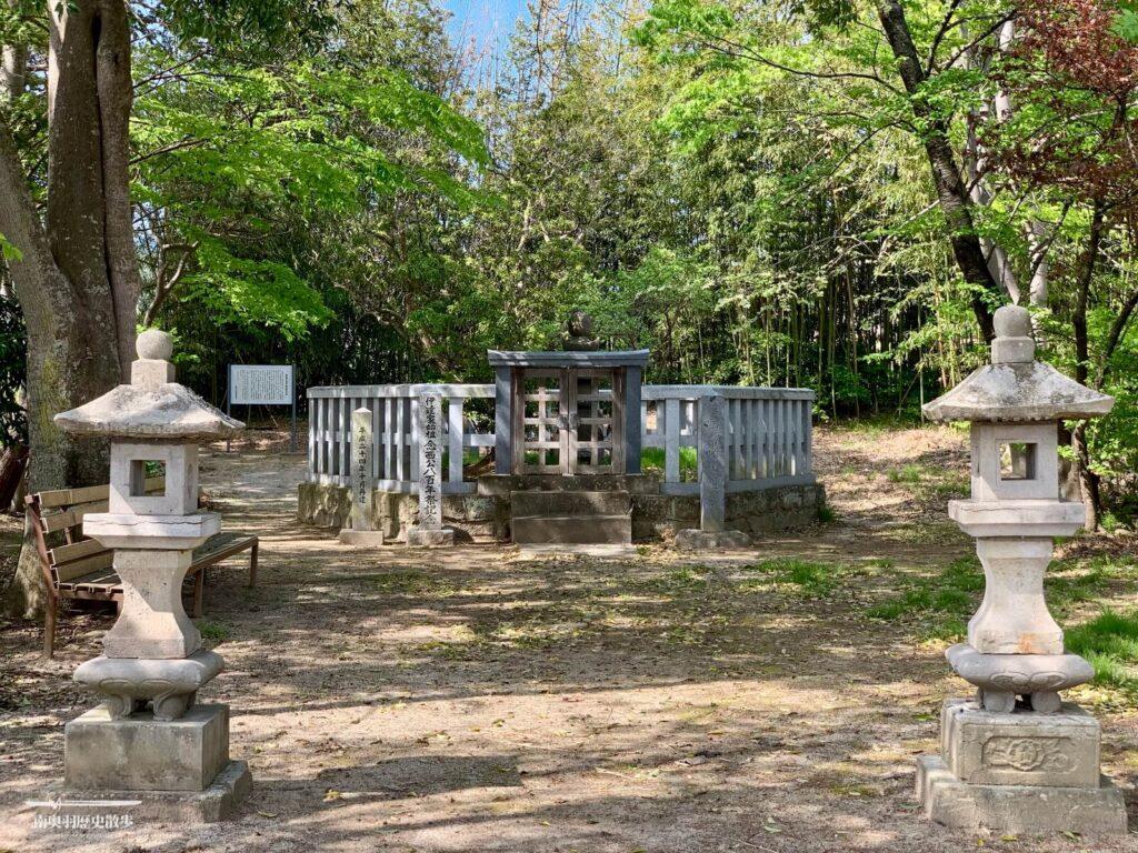 伊達朝宗の墓所