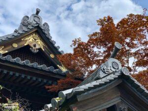八脚門の屋根瓦