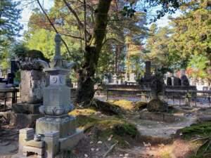 田村清顕夫人と竹松丸の墓