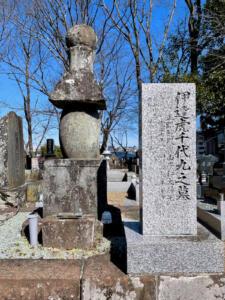 伊達虎千代丸の墓