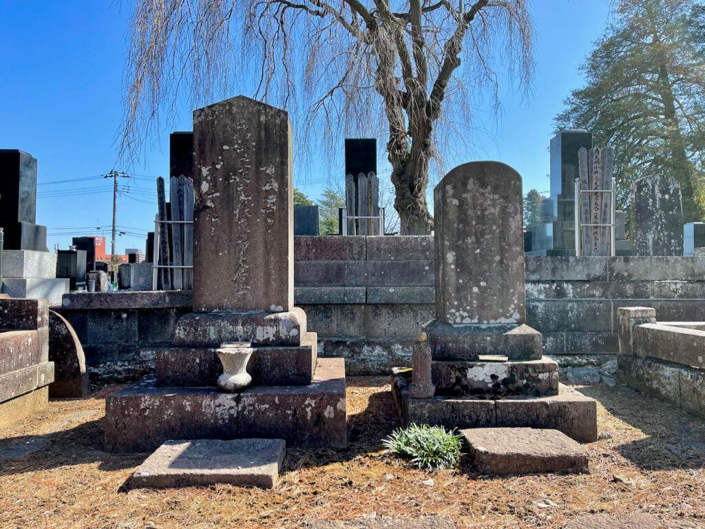 伊達村和の墓