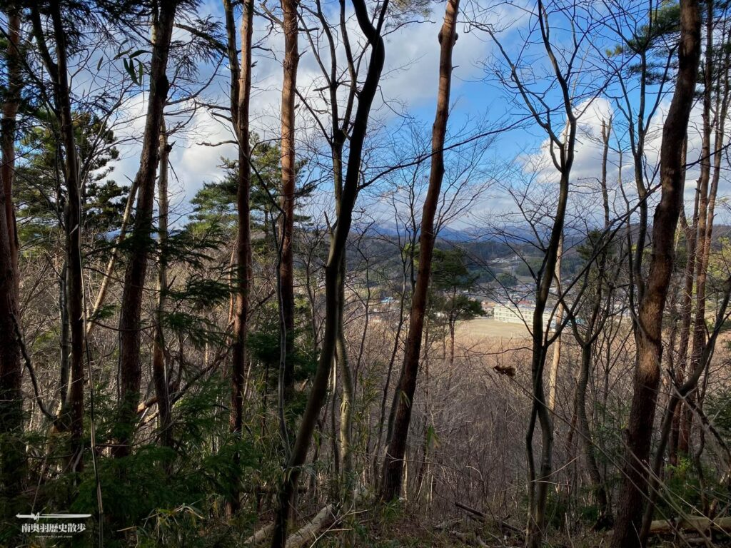 羽黒山城跡