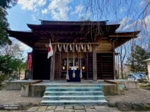 亀岡八幡宮 拝殿