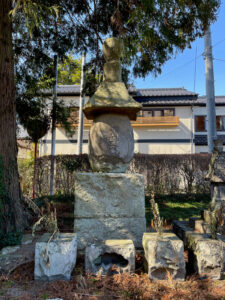 伊達宗清 供養塔