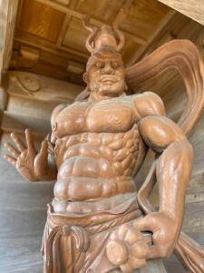 金剛力士像(吽形)