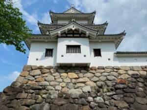 二ノ丸から見た三階櫓