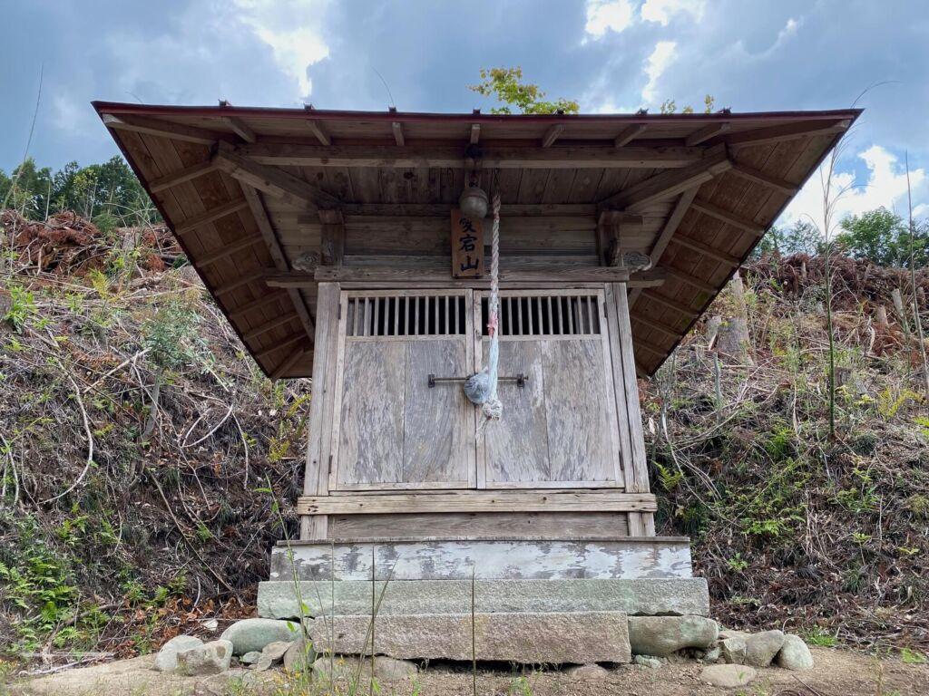 愛宕神社の小祠