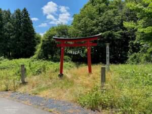 草薙神社の鳥居