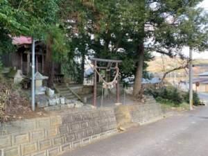 城下にある津島神社