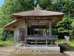 県指定有形文化財 八幡神社舞楽殿
