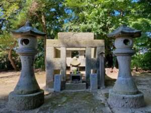 伊達氏十六代 伊達輝宗の墓