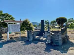 飯坂御前の墓
