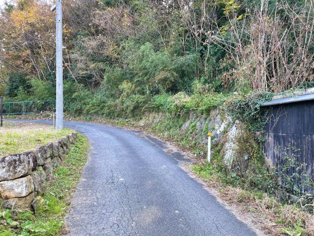 北館下の石垣