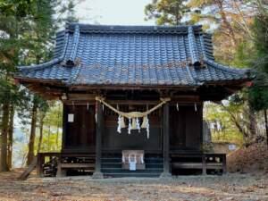 黄金八幡神社 拝殿