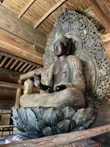木造阿弥陀如来坐像